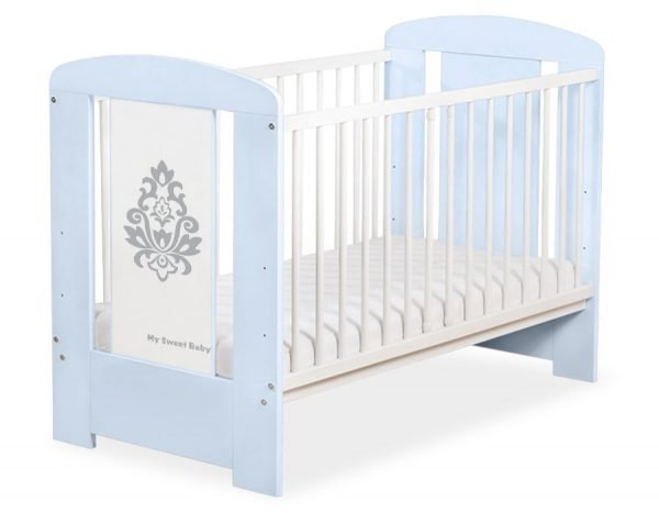 5015-03-1 Without Drawer Baby Cot/Cot Bed Glamour