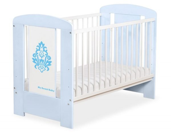 5015-03-3 Without Drawer Baby Cot/Cot Bed Glamour