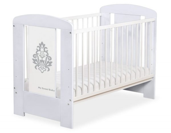 5015-06-1 Without Drawer Baby Cot/Cot Bed Glamour
