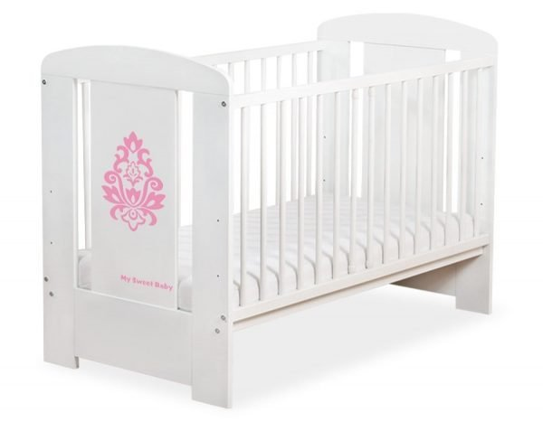5015-07-02 Without Drawer Baby Cot/Cot Bed Glamour