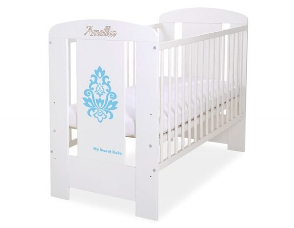 5015-07-3 Without Drawer Baby Cot/Cot Bed Glamour