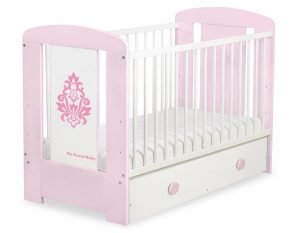 5015-08-2 MAXI Baby Cot/Cot Bed Glamour