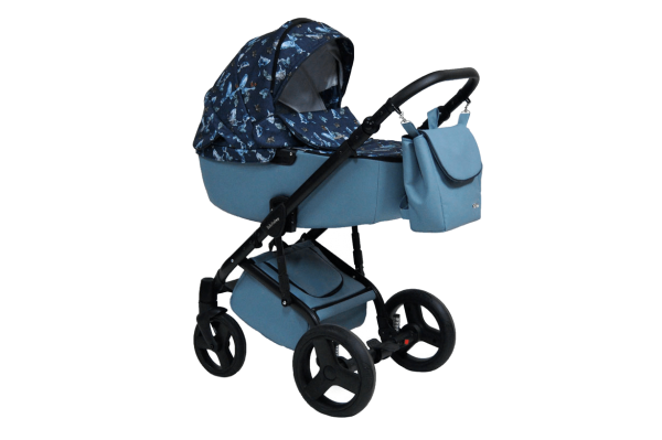 10 Stilo 3in1 Blue & Celeste