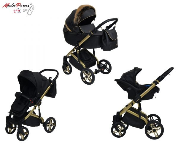 ST-12 Stilo Gold 3in1 Black & Gold Design