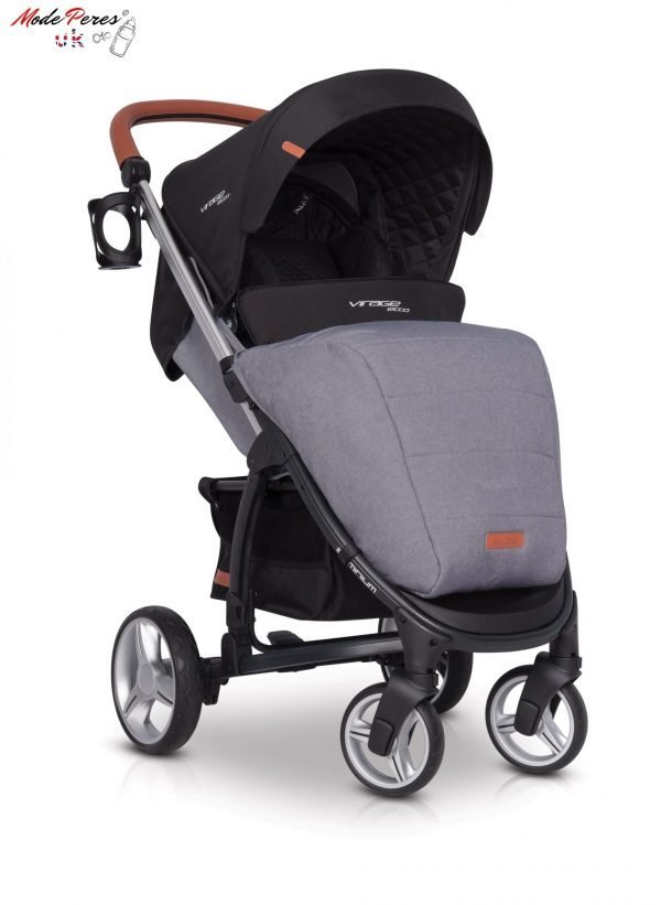 01-1 Euro Cart VIRAGE ECCO Stroller Anthracite