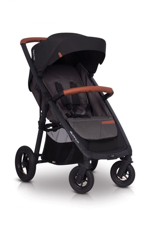 01-3 Euro Cart QUANTUM AIR Stroller Anthracite