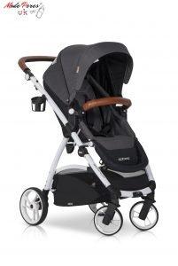 02 Euro Cart OPTIMO Stroller Anthracite