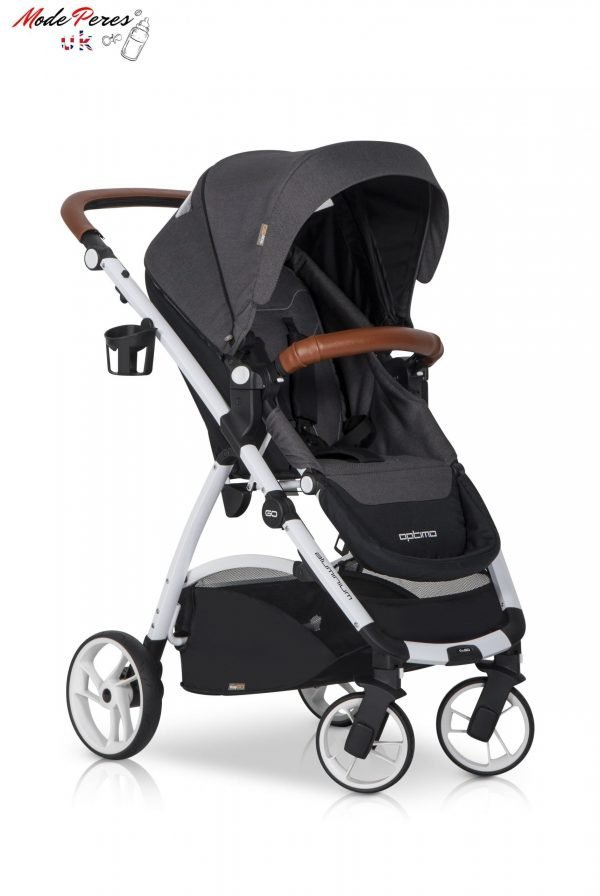 02 Euro Cart OPTIMO Stroller Anthracite