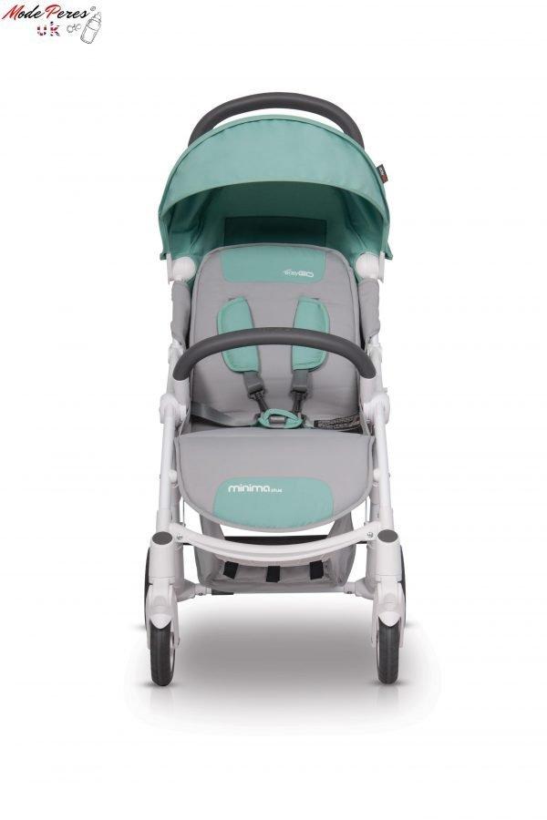 01-1 Euro Cart MINIMA PLUS Stroller Basil
