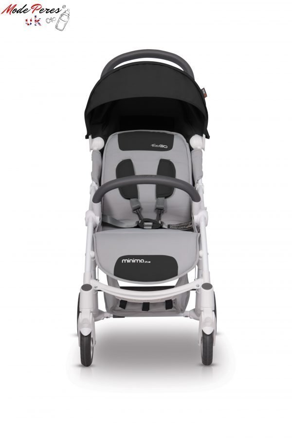 02-1 Euro Cart MINIMA PLUS Stroller Carbon