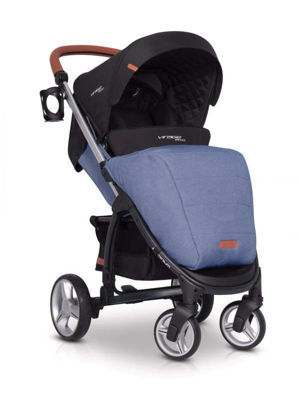 02-1 Euro Cart VIRAGE ECCO Stroller Denim