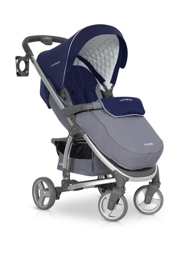02-1 Euro Cart VIRAGE Stroller Denim