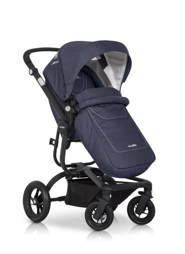 03 Euro Cart SOUL Stroller Denim