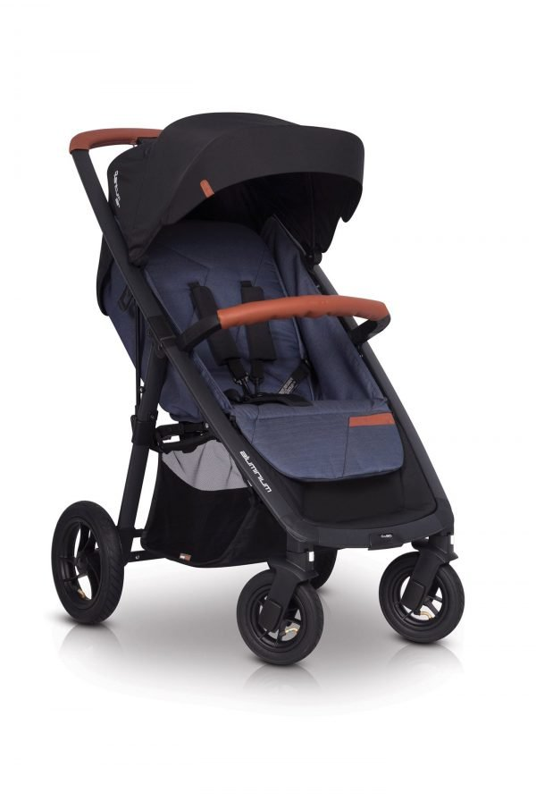 02-3 Euro Cart QUANTUM AIR Stroller Denim