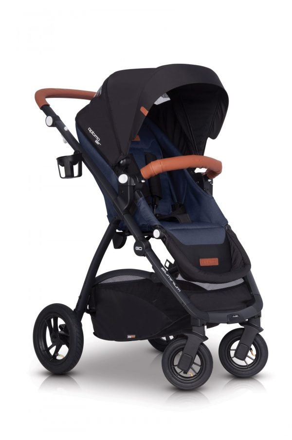 02 Euro Cart OPTIMO AIR Stroller Denim