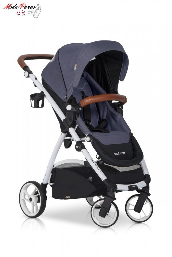 03 Euro Cart OPTIMO Stroller Denim
