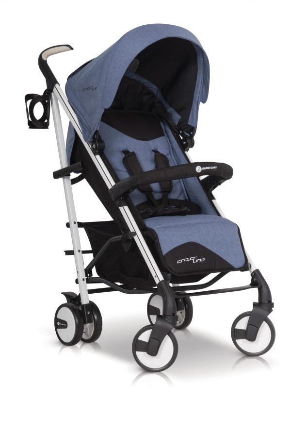 02B Euro Cart CROSSLINE Stroller Denim