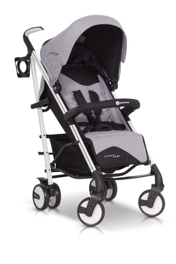 03A Euro Cart CROSSLINE Stroller Grey Fox