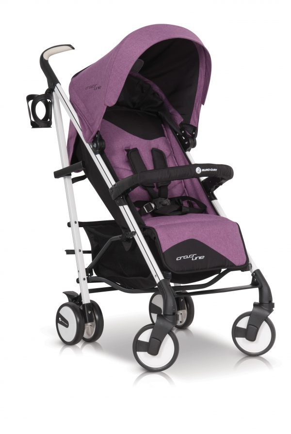 05B Euro Cart CROSSLINE Stroller Purple