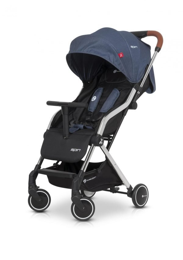 01-1 Euro Cart SPIN Stroller Denim