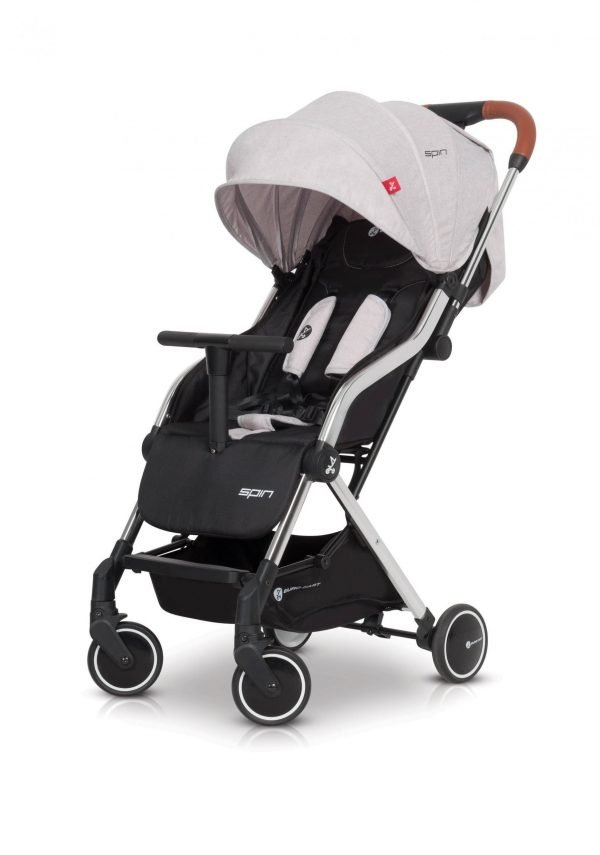 03-1 Euro Cart SPIN Stroller Grey Fox