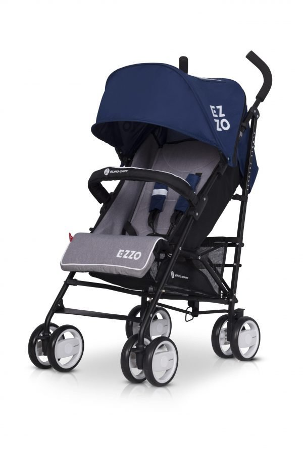 03-2 Euro Cart EZZO Stroller Denim