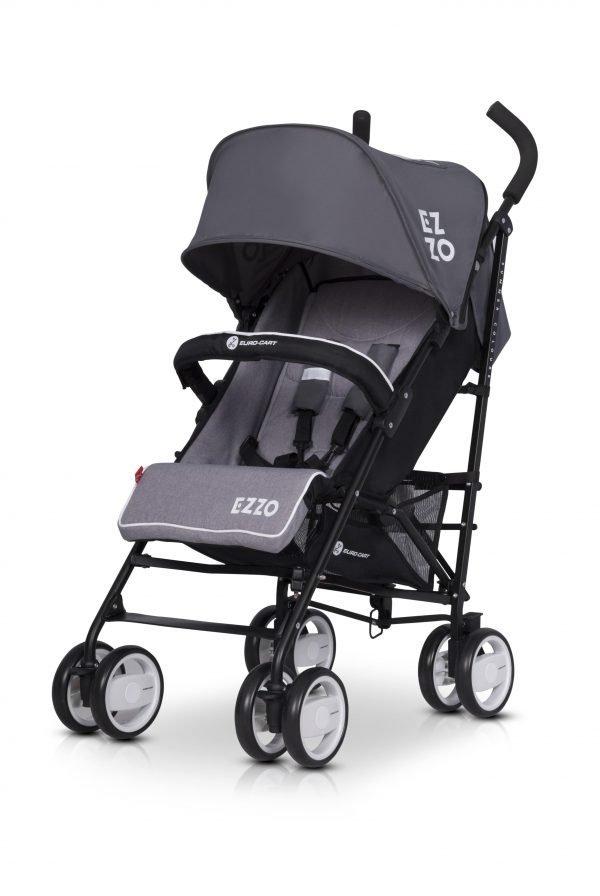 04-2 Euro Cart EZZO Stroller Qraphite
