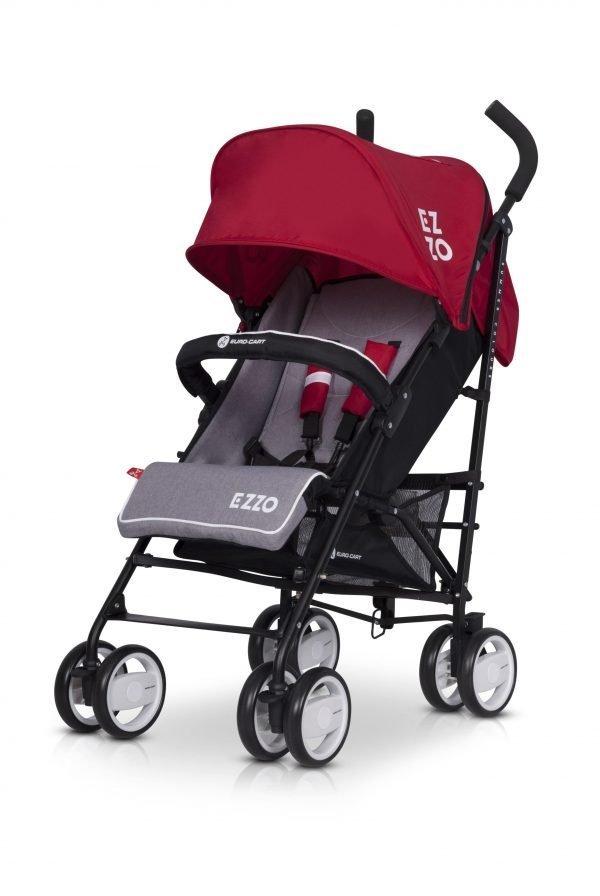 05-2 Euro Cart EZZO Stroller Scarlet