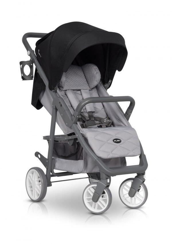 01-1 Euro Cart FLEX Stroller Anthracite