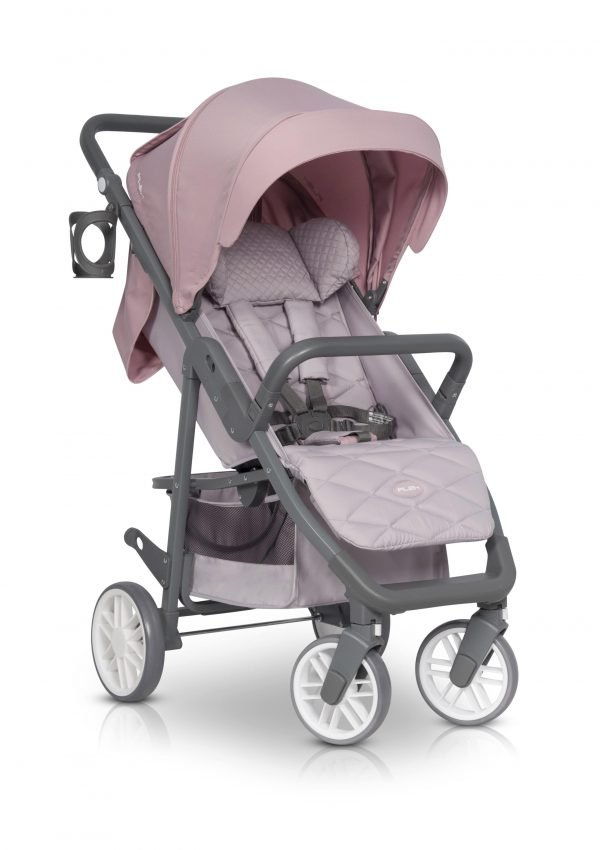 03-1 Euro Cart FLEX Stroller Powder Pink