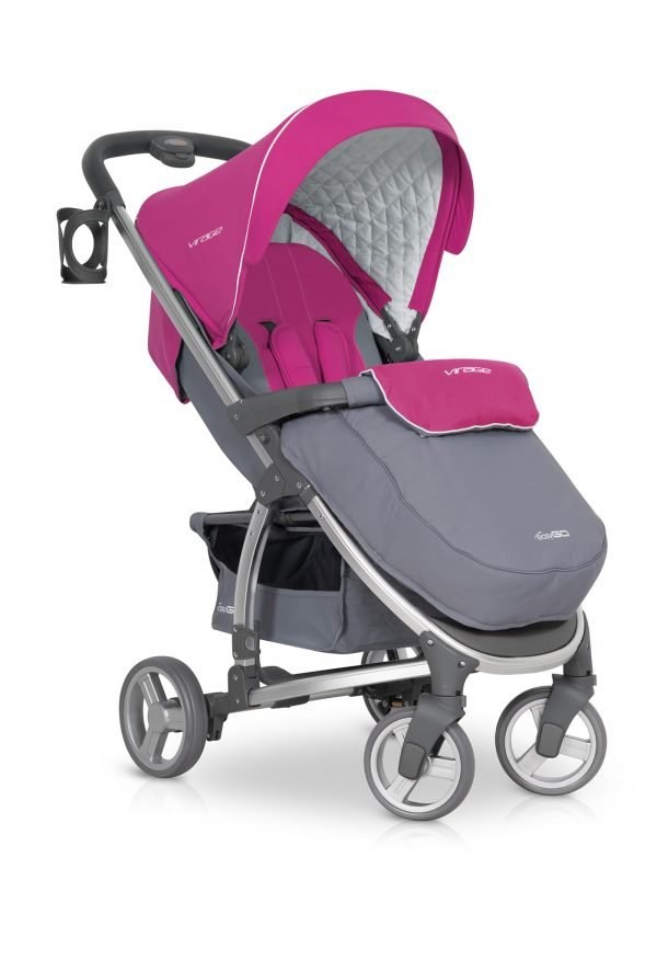 03-1 Euro Cart VIRAGE Stroller Fuchsia