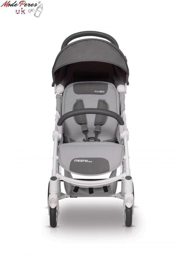 03-1 Euro Cart MINIMA PLUS Stroller Qraphite