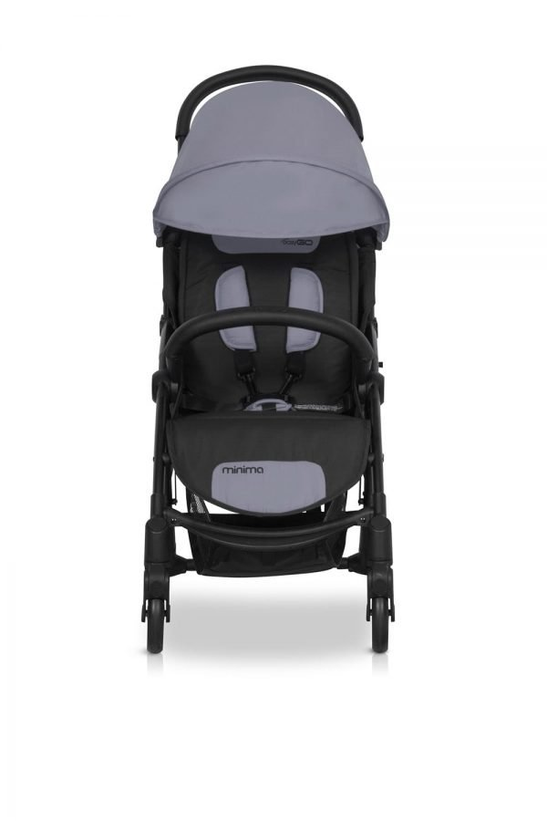 02-1 Euro Cart MINIMA PLUS Stroller Grey Fox