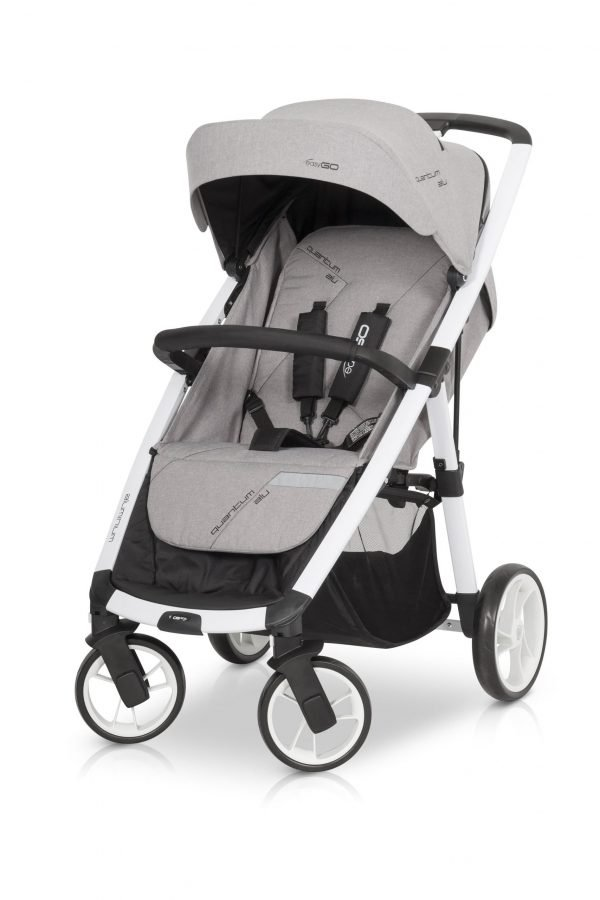 04-2 Euro Cart QUANTUM ALU Stroller Grey Fox
