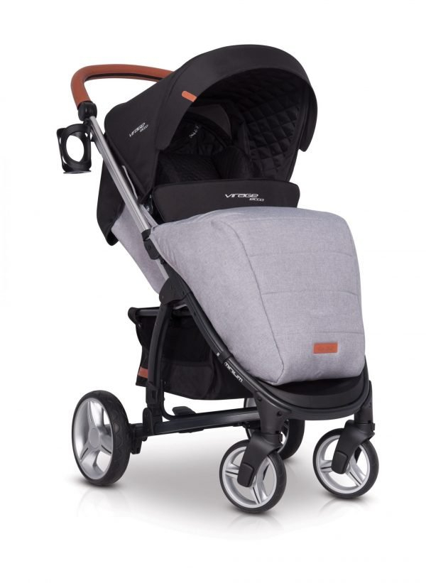 03-1 Euro Cart VIRAGE ECCO Stroller Grey Fox
