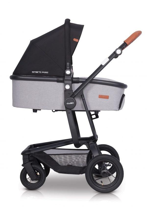 03D Euro Cart SOUL AIR 3in1 Grey Fox