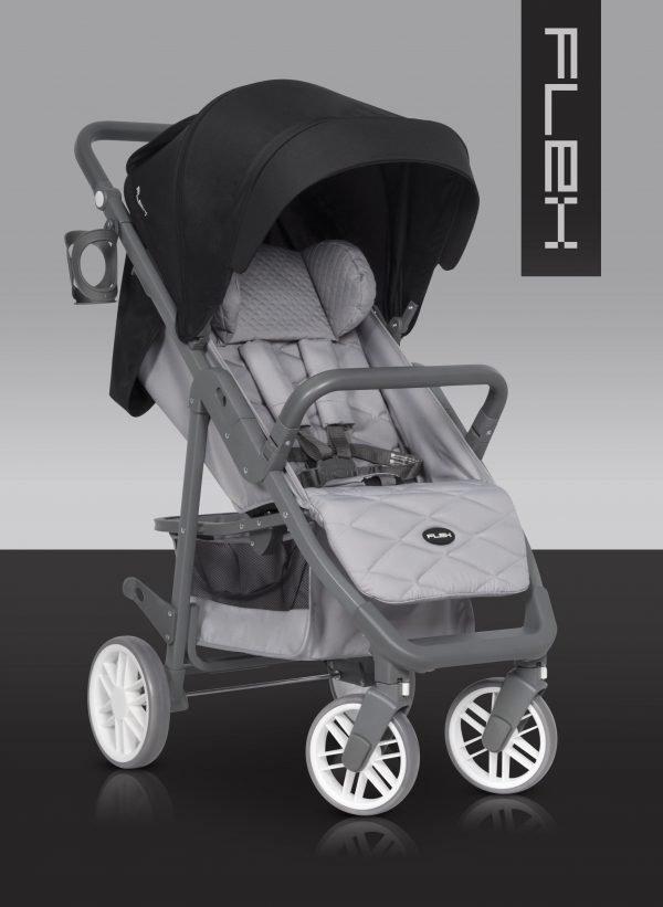 01-3 Euro Cart FLEX Stroller Anthracite