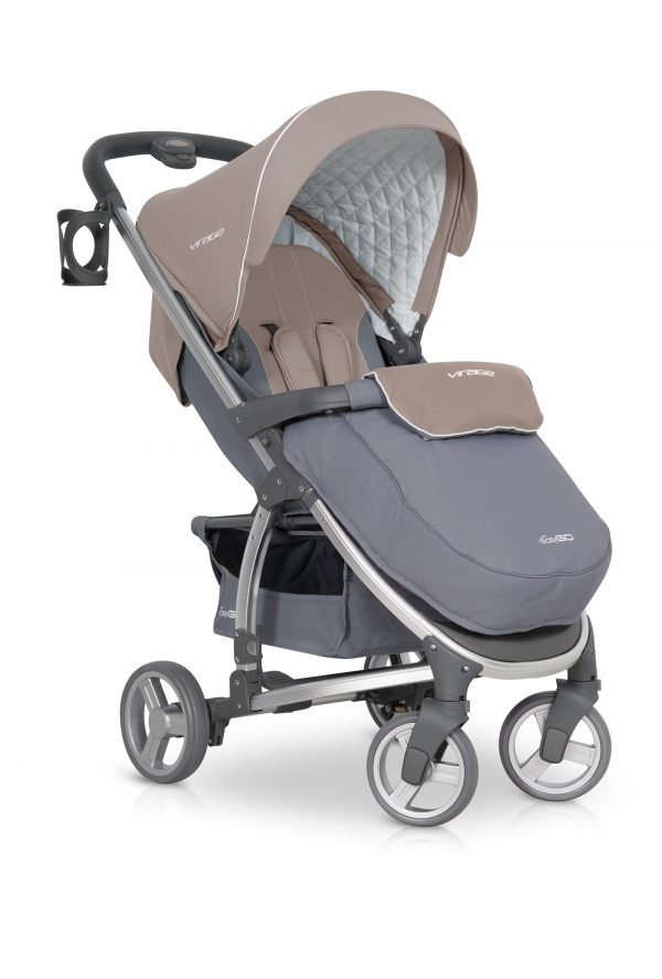04-1 Euro Cart VIRAGE Stroller Latte