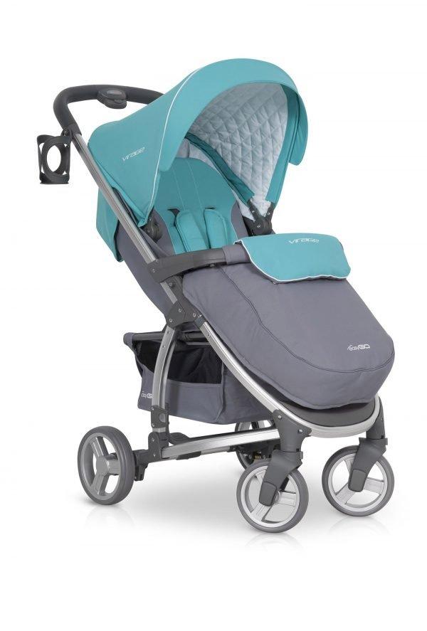 05-1 Euro Cart VIRAGE Stroller Malachite