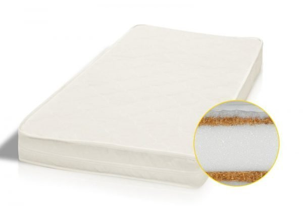 Mat_lux Without Drawer Baby Cot/Cot Bed Glamour