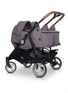 Soft Carrycot for All easyGO Double Twin Strollers
