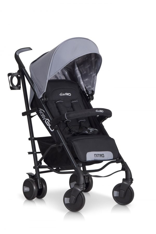 02-3 Euro Cart NITRO Stroller Grey Fox