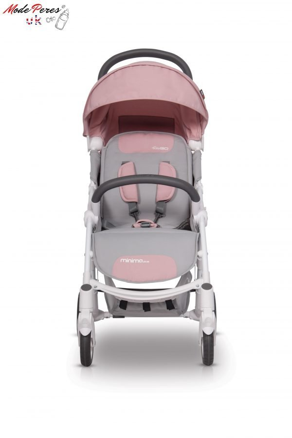 05-1 Euro Cart MINIMA PLUS Stroller Powder Pink