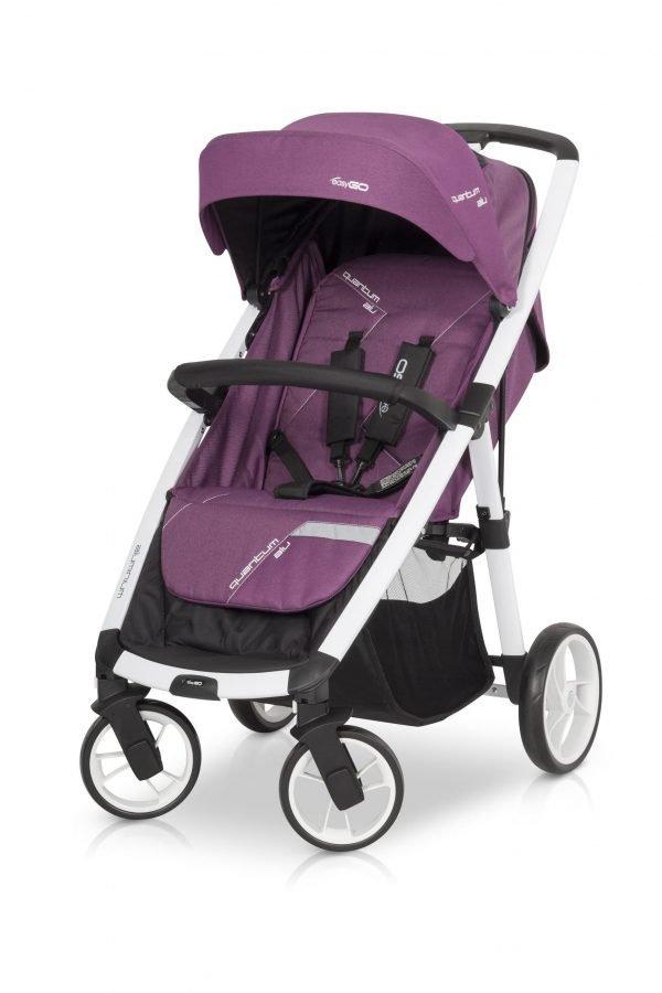 05-2 Euro Cart QUANTUM ALU Stroller Purple