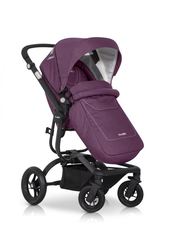 06 Euro Cart SOUL Stroller Purple