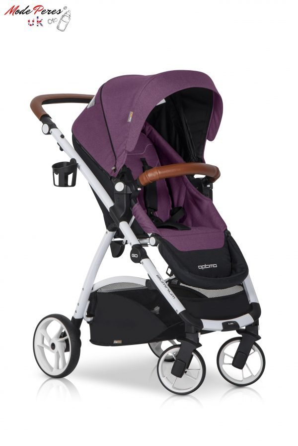 05 Euro Cart OPTIMO Stroller Grey Fox