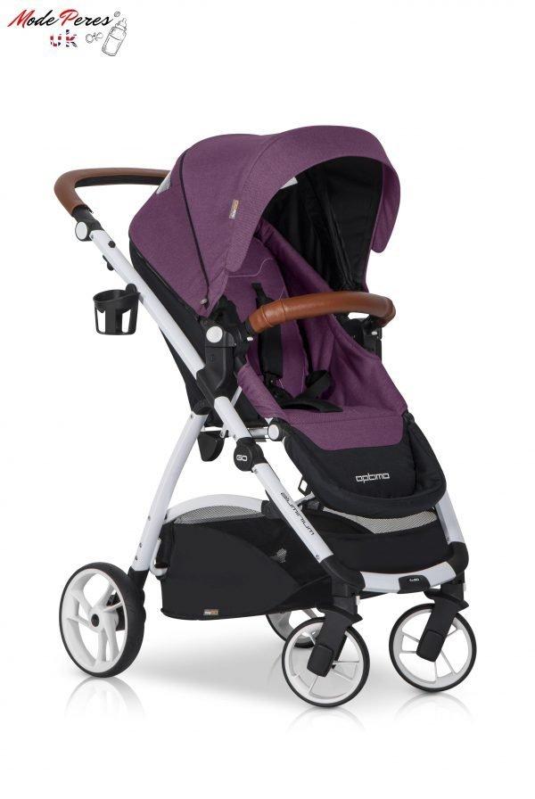 05 Euro Cart OPTIMO Stroller Grey Fox
