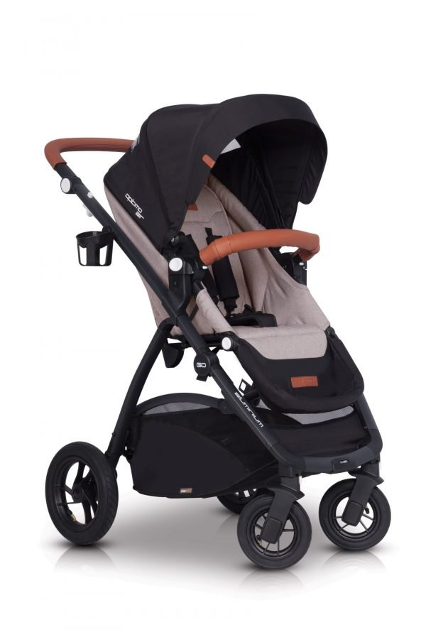 04 Euro Cart OPTIMO AIR Stroller Sand