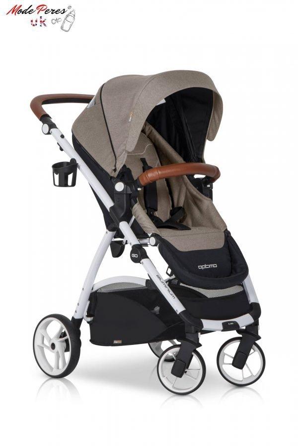 06 Euro Cart OPTIMO Stroller Sand