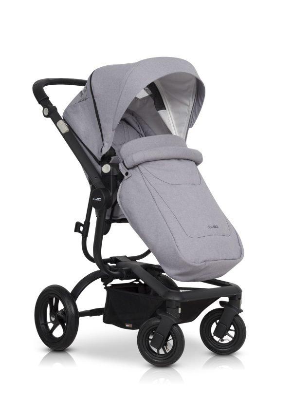 04B Euro Cart SOUL 3in1 Grey Fox
